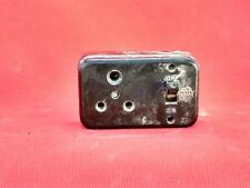 Vintage Old Collectible Bakelite Ceramic Large Switch & Socket India