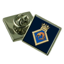 Royal Navy Ferret Sterling Lapel Pin Badge