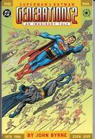 SUPERMAN & BATMAN GENERATIONS 2 1ST PRINT TPB NM JOHN BYRNE DC COMICS