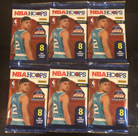 Lot (6) 2020-21 Panini Hoops Basketball SEALED PACK from Hobby Box Ball RC???