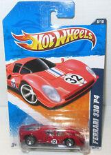 RED Hot Wheels Ferrari 330 P4 1:64 Italian Sports Car 2011 HW Garage