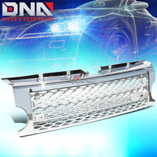 05-09 LAND ROVER LR3 DISCOVERY 3 MESH FRONT BUMPER CHROME ABS GRILL/GRILLE GUARD