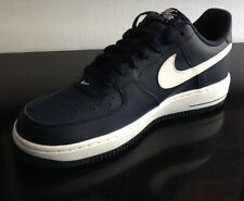 NIKE AIR FORCE AF1 Gr. 40 US 7 UK 6 MID NIGHT NAVY WHITE LOW ONE 488298 436