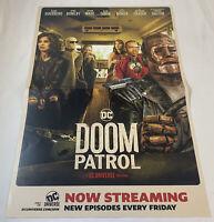 DOOM PATROL tv show promo poster ~ SS ~ 13.5x20