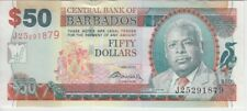 BARBADOS BANKNOTE P70b 50 DOLLARS 1.5.2007 (2009), SIG DR. DELISLE WORRELL, UNC