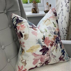 John Lewis & Partners Abelia  Fabric Cushion Cover Beautiful Floral Print Multi