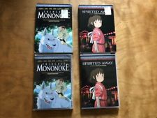 Spirited Away & Prince Mononoke Dvd's*Studio Ghibli Film*Slipcover*Shout Factory