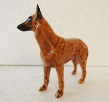 Belgian Shepherd figurine Dog figurine NEW Author's Porcelain figurine