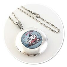 Moomin & Friends Round Locket necklace Moomins