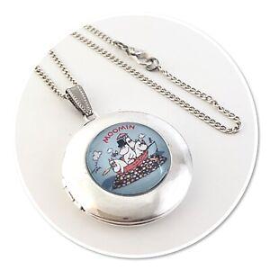 Moomin & Friends Round Locket necklace Moomins