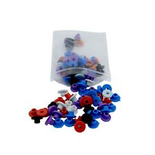 100pcs T Colorful Rubber Tattoo Needle Machine Grommets Nipples Pin Eye Pad
