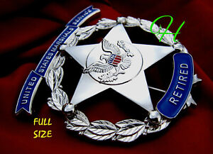 ##/ Collector police badge, U. S. Marshal Service  - retired -
