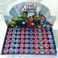 60 pcs Marvel Avengers Self Inking Stamper Pencil Topper Display Box Party Favor