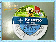 Bayer Seresto Flea and Tick Collar for Large Dog,8 Month Protection Treatment
