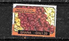 GHANA SC #2659 2009 VEGETABLES 1.20CE POSTALLY USED COMMEMORATIVE STAMP