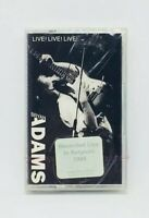 Bryan Adams Live! Live! Live! new cassette 1988 A&M USA 82839 7094 4