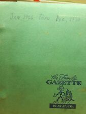 The Family Gazette W.W.P. Co. 1966-1970 lot of 60 W/ Complimentary Binder