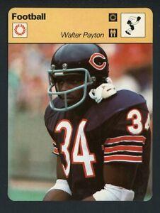 1977 SPORTSCASTER WALTER PAYTON BEARS EX-MT 415199 (KYCARDS)