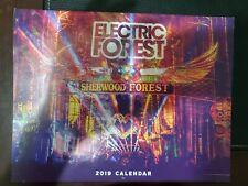 Electric Forest Fest Calendar 2019