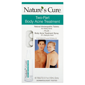 Nature's Cure Body Acne Treatment Spray 3.5 oz