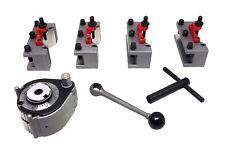 Paulimot 60390 Schnellwechsel-Stahlhalter Set Drehbank mit System Multifix