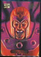 1994 Marvel Masterpieces Gold Signature Trading Card #70 Magneto