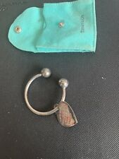 Genuine Tiffany & Co Argento Portachiavi. marchiato Londra 2003. Uomo Donna Regalo.
