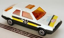 Majorette No.275 Renault 11 White #25 Rally Paint Liftback/Hatchback 1:54 Scale