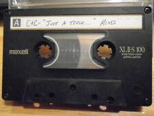 RARE PROMO C + C Music Factory DEMO CASSETTE TAPE Just A Touch mixes dance 1991