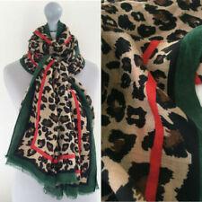 Écharpes et châles verts coton pour femme