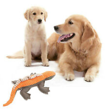 New listing Lizard Plush Squeaker Sound Pets Toy Funny Puppy Dog cat Interactive Chew Toys