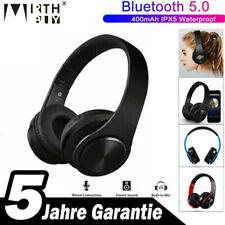 Bluetooth 5.0 Kopfhörer Faltbare Wireless HiFi-Stereo Bass Headset mit Mic.