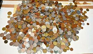 BULK LOT OF 100 MIXED WORLD / FOREIGN COINS VARIOUS COUNTRIES SOME MIGHT OLD #4