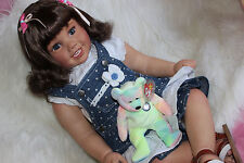 """Reborn Toddler baby Girl Cammi by Ping Lau now, Lil Girl Joy 29"""""""