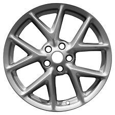 62512 Refinished Nissan Maxima 2009-2011 19 inch Wheel Rim Medium Sparkle Silver