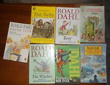 Roald Dahl Collection of 7 Older paperback books