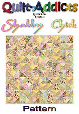 """""""SHABBY CHICK"""" Patchwork Quilt Pattern"""