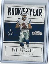 2016 Panini Contenders Dak Prescott Rookie of the Year Contender  #22 (Cowboys)