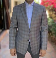 Emporio Armani G Line Slim Fit Gray Wool Blazer 40R Jacket EUR 40 R $1895