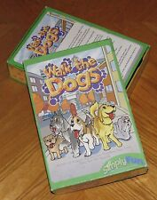 Walk the Dogs Game 2004 Simply Fun complete 63 miniature dog figures