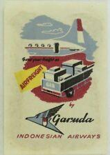 Original Indonesian Airways Garuda Poster Stamp P131