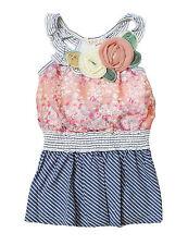 NWT Baby Sara Girls' Flower Boutique Dress ~ Size 4T