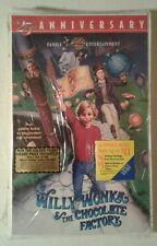 Willy Wonka and the Chocolate Factory VHS 1996 Remastered 25th Ann Golden Ticket