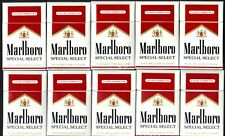 Marlboro Empty Cigarette Boxes With Unused Reward Codes - Quantity 10
