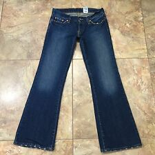 LUCKY BRAND Lil Maggie Distressed Button Fly Billie Jeans Size 27x29 Short  C243