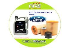 KIT Tagliando Olio+Filtri FORD FIESTA QUINTA SERIE 1.6TD 66Kw/90cv dal 2004 -->
