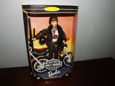 Barbie 1998,  Harley Davidson Barbie -Collector Edition- 2nd in Series- Mattel