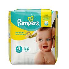 Pampers Premium Protection Windeln Größe 4 Maxi 24 Stück 8-16kg Baby Seide Weich