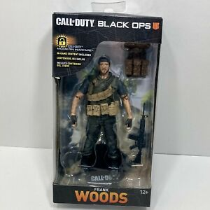 Frank Woods McFarlane Toys Call of Duty Black Ops 3 Action Figure W/ Game Code