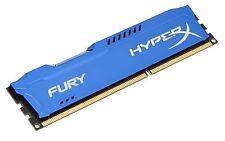 HyperX Fury Blue Series Memorie RAM, 4 GB, 1600 MHz, DDR3, Blu